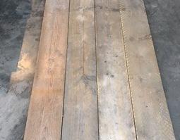 gebruikt gedoubleerd steigerhout 13 mm