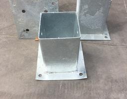 betonvoet 9 x 9 cm