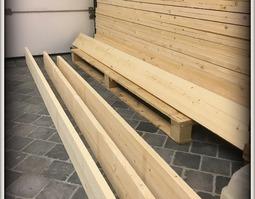 Parket vandycke/steigerhout